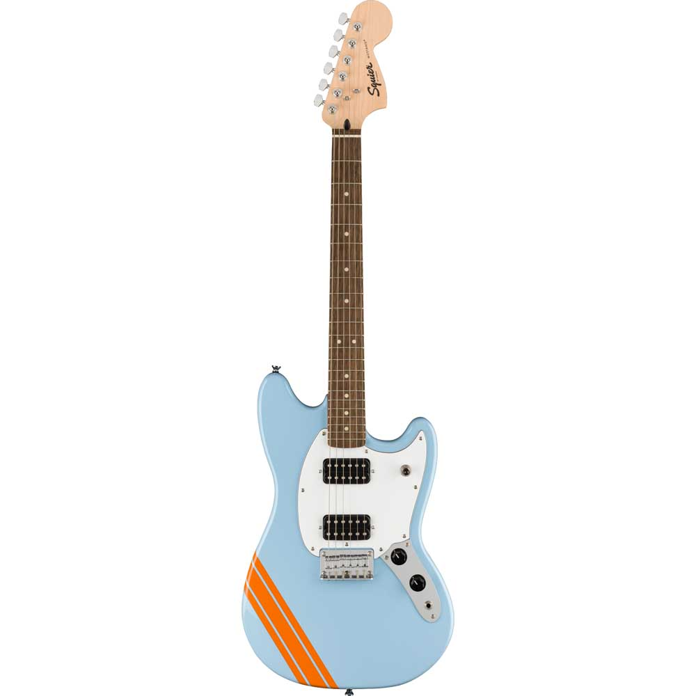 Squier FSR Bullet Competion Mustang HH Daphne Blue